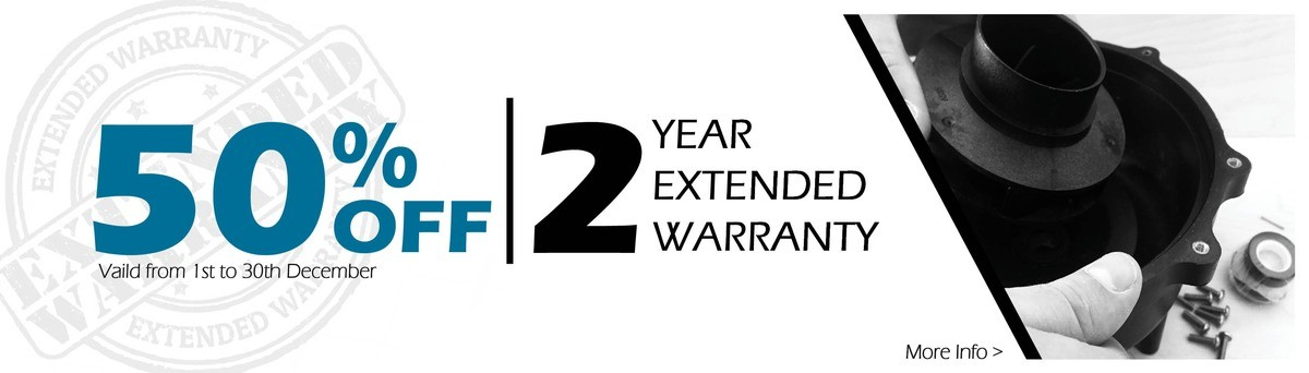 50% Off Extended Warranty!