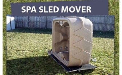 The Spa Sled Mover