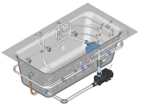 Part finder hydrospares for Hot tub pump motor troubleshooting